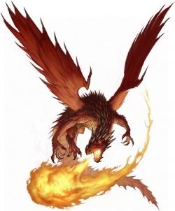 drago rosso giovane   golarion insider pathfinder wiki
